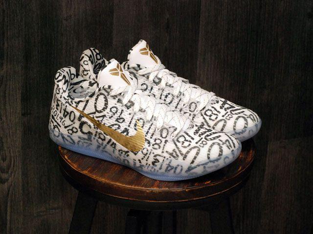 Nike Kobe 11 XI ID Mamba Day White Gold