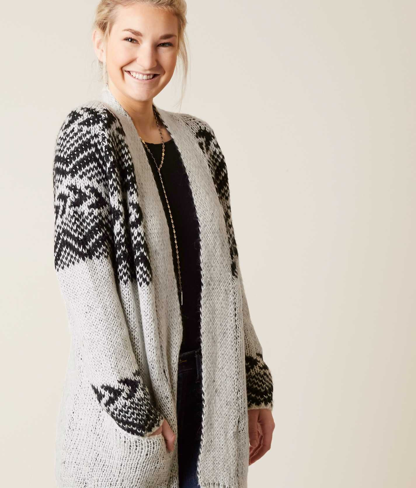 Billabong Womens Cardigan Sweater