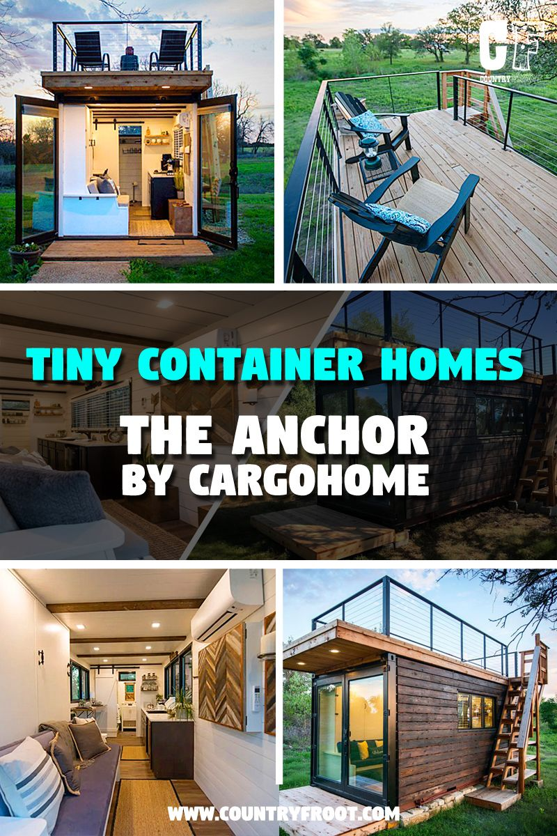 The Anchor CargoHome Shipping Container Tiny House