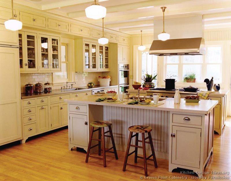 Victorian Kitchen Cabinets #05 (Crown-Point.com, Kitchen-Design-Ideas.org)