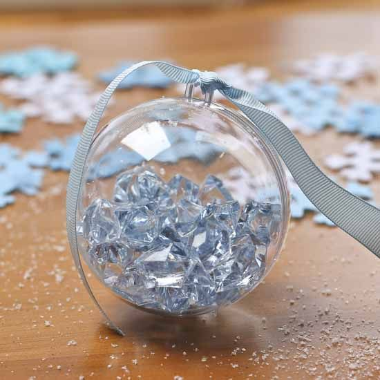 12+ Clear plastic ornaments to fill ideas