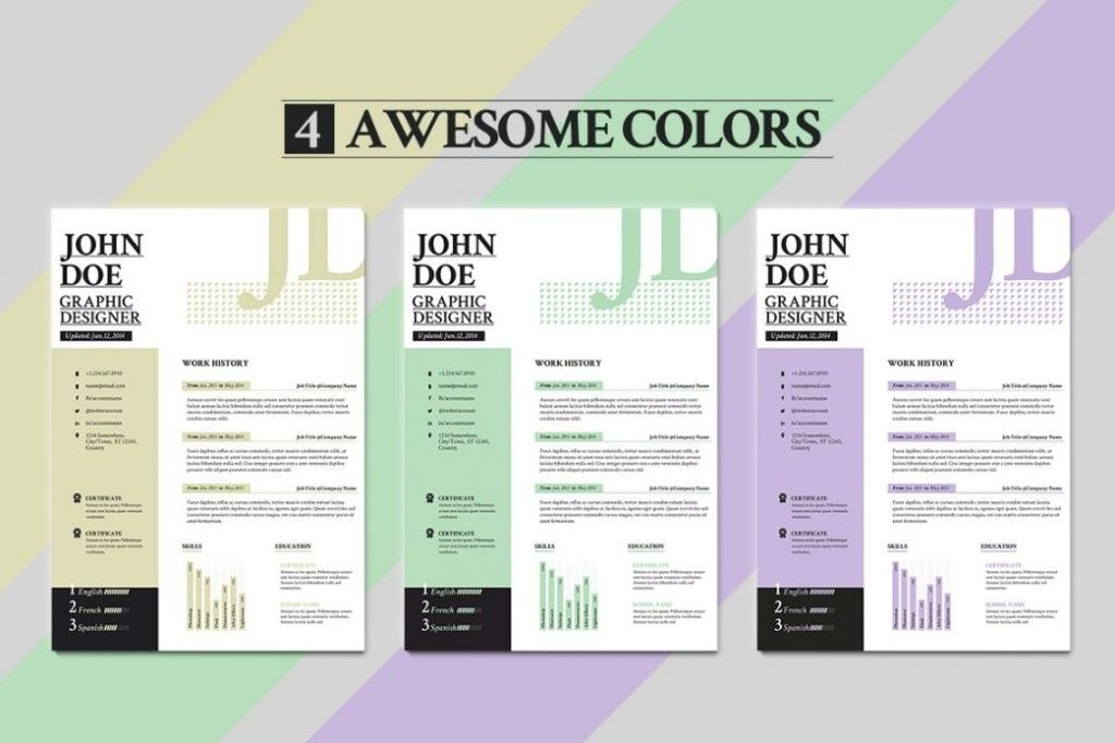 Consulting Resume Template Word, PSD and InDesign Format - consulting resume template