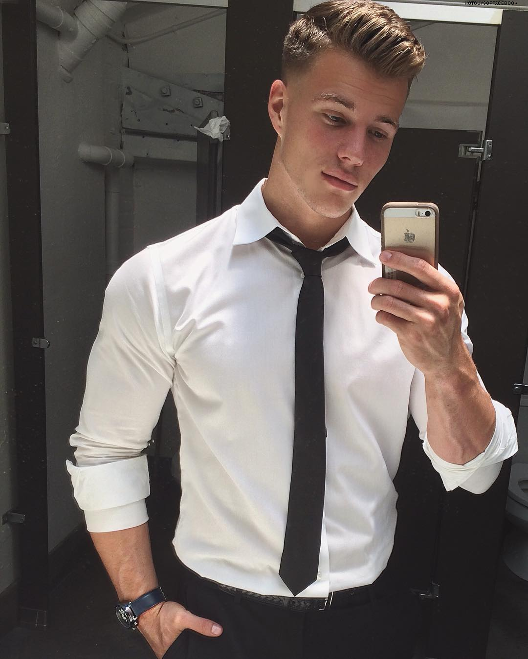 Classy mens haircuts schöne men  hot selfies  pinterest  football team sexy guys and guy