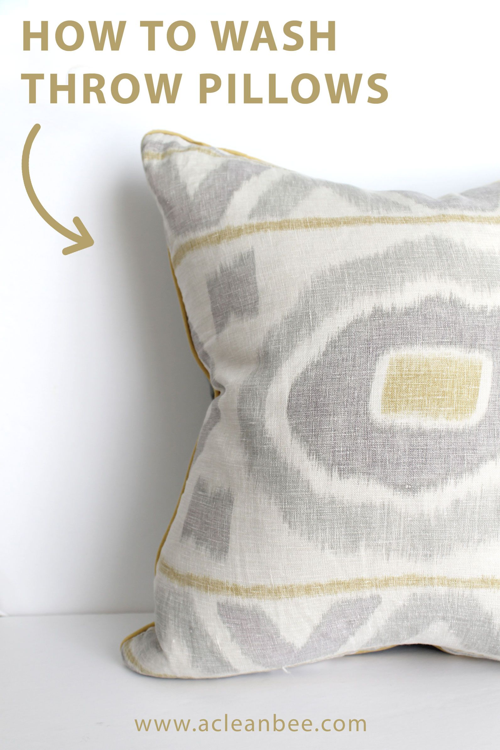 How To Clean Throw Pillows Throw Pillows How To Wash Throw
