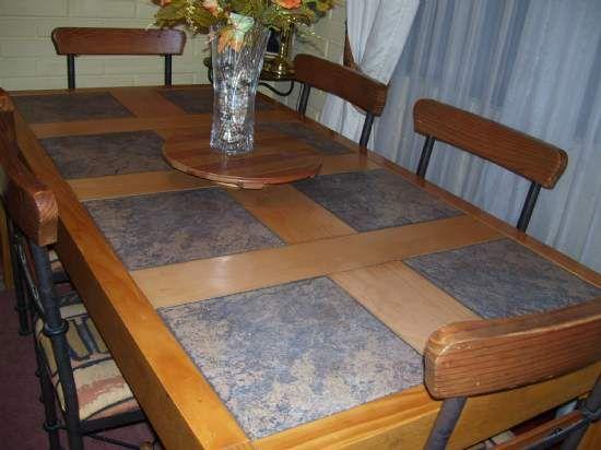 Comedor con piedra pizarra -www.mueblesetruscos.cl - MUEBLES ...