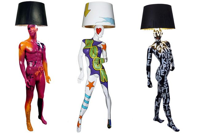77, BOOM and Diaz Floor lamps by Jimmie Martin (via LABEL1114.nl)