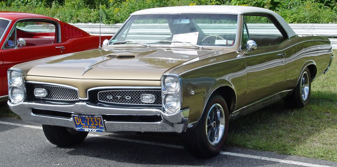 1967 Pontiac Gto Gold With White Vinyl Top Front Angle Pontiac Gto Muscle Cars Classic Cars Muscle