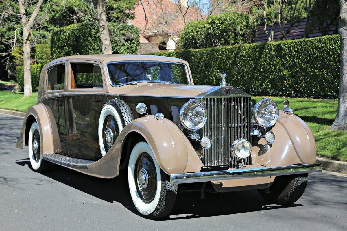 1937 RollsRoyce Phantom III Sports Saloon by H.J