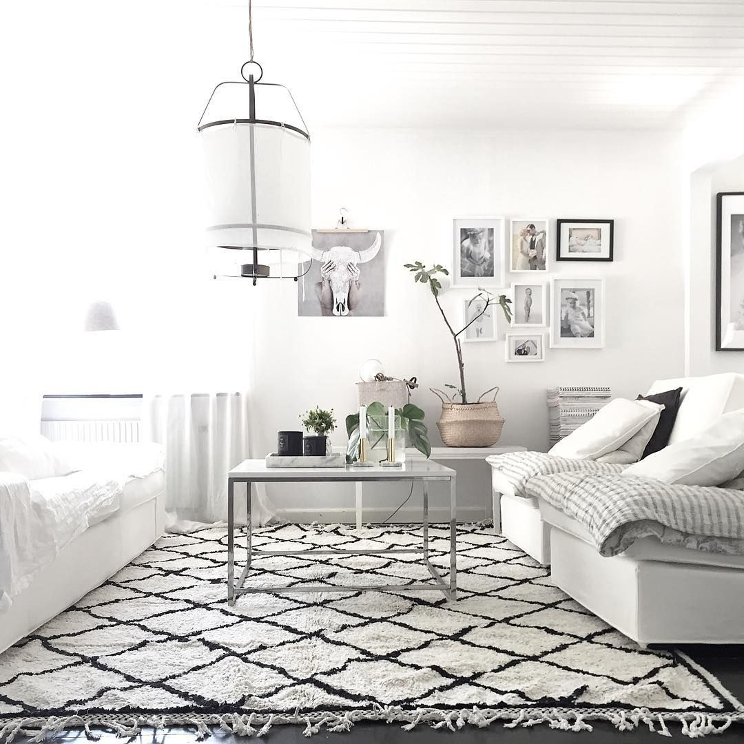 amazing monochrome boho chic living room  lifestylebygranath