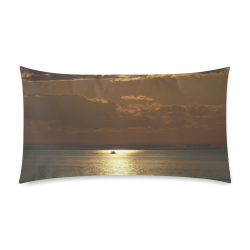 """Awesome Sea Scene Rectangle Pillow Case 20""""x36""""(Twin Sides)"""