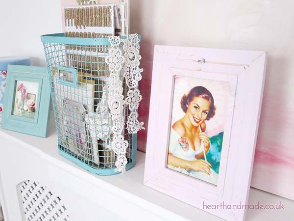 Frames and wire storage