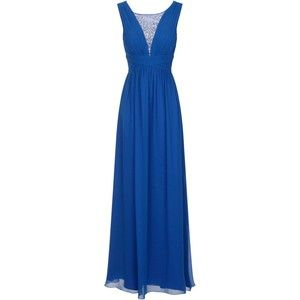 Chi Chi London Sheer Beaded Chiffon Maxi Dress