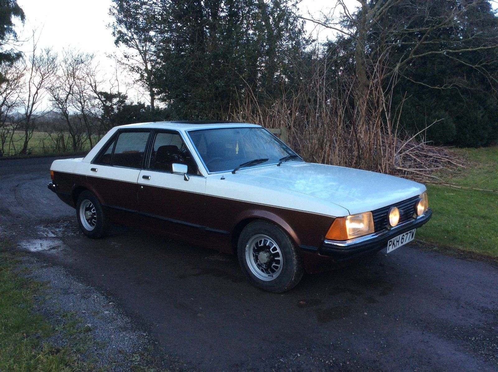 eBay: 1980 Ford Granada Mk2 pre facelift 2.3 L spec - V6 Manual saloon. Classic  Ford