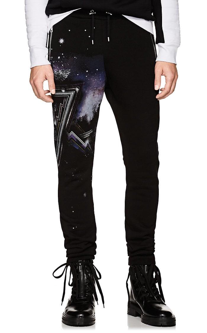 427f0f7805dc Balmain Galaxy Cotton Fleece Jogger Pants - S in 2019