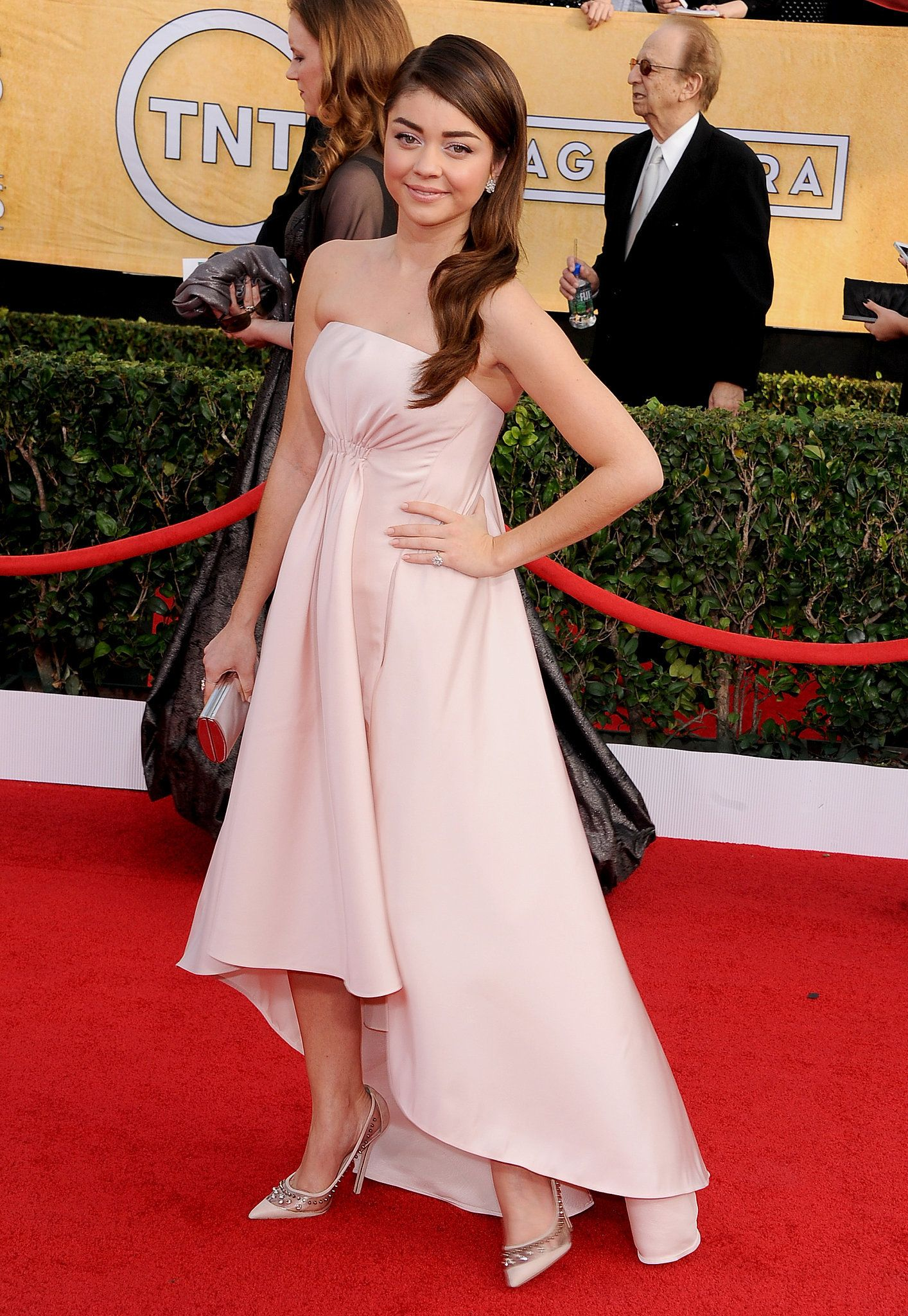 924a18460452 Sarah Hyland at the SAG Awards 2014 Love her dress even cooler that it has  pockets