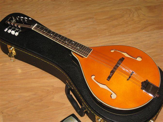 Kentucky A Style F Hole Mandolin & Case - The Mandolin Store