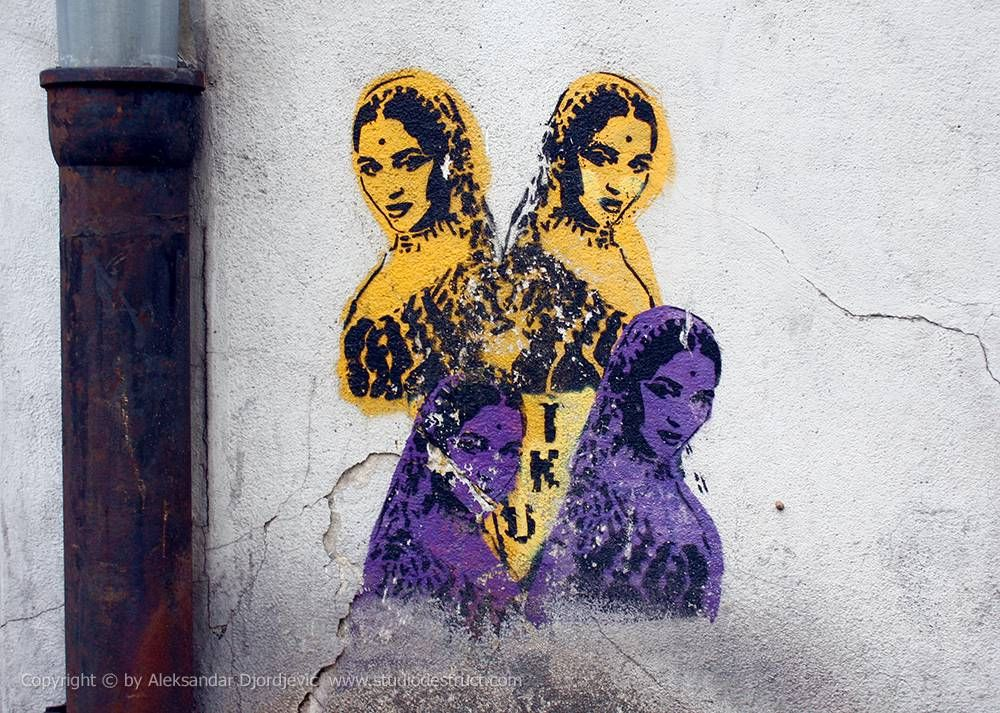 Bollywood / TKV / Vračar #BeogradskiGrafiti #StreetArt #Graffiti #Beograd #Belgrade #Grafiti