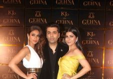 Launch of Karan Johar's jewellery line for Gehna Jewellers