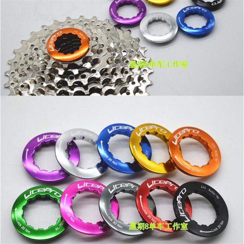 Bicycle Freewheel Cassettes Lock Ring Cover 11T MTB Bike Cycling Aluminum Alloy