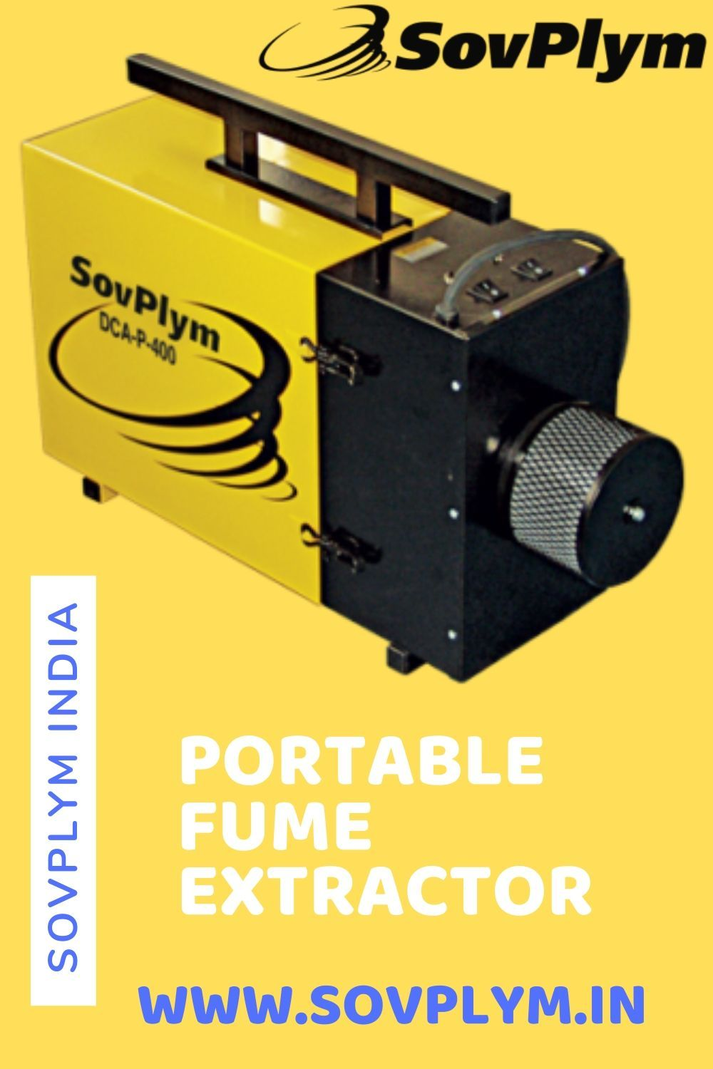 SovPlym offers mobile dust filters, portable fume