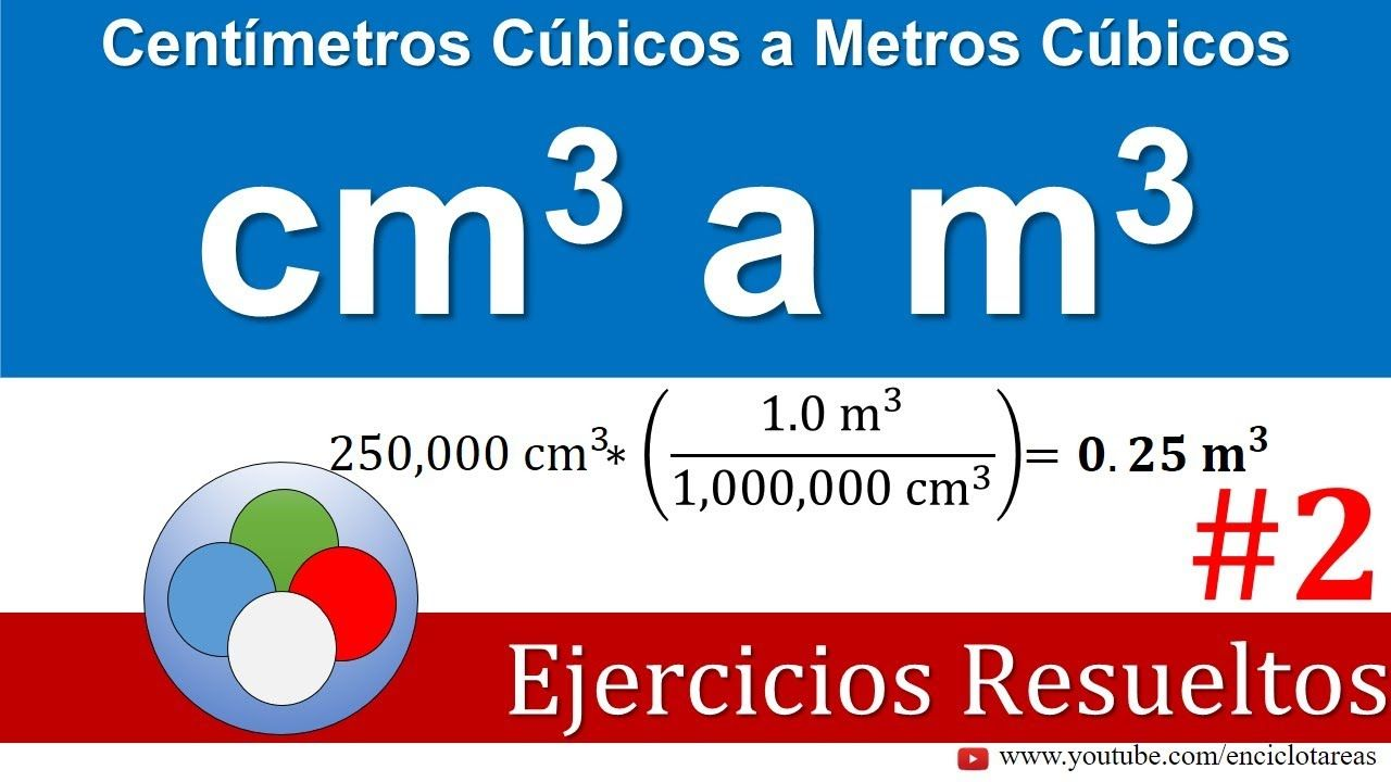 Centimetros Cúbicos A Metros Cúbicos Cm3 A M3 Parte 2 Youtube Education Interactive Youtube