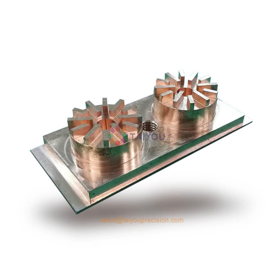 EDM Copper electrode ot graphite electrode for plastic mold