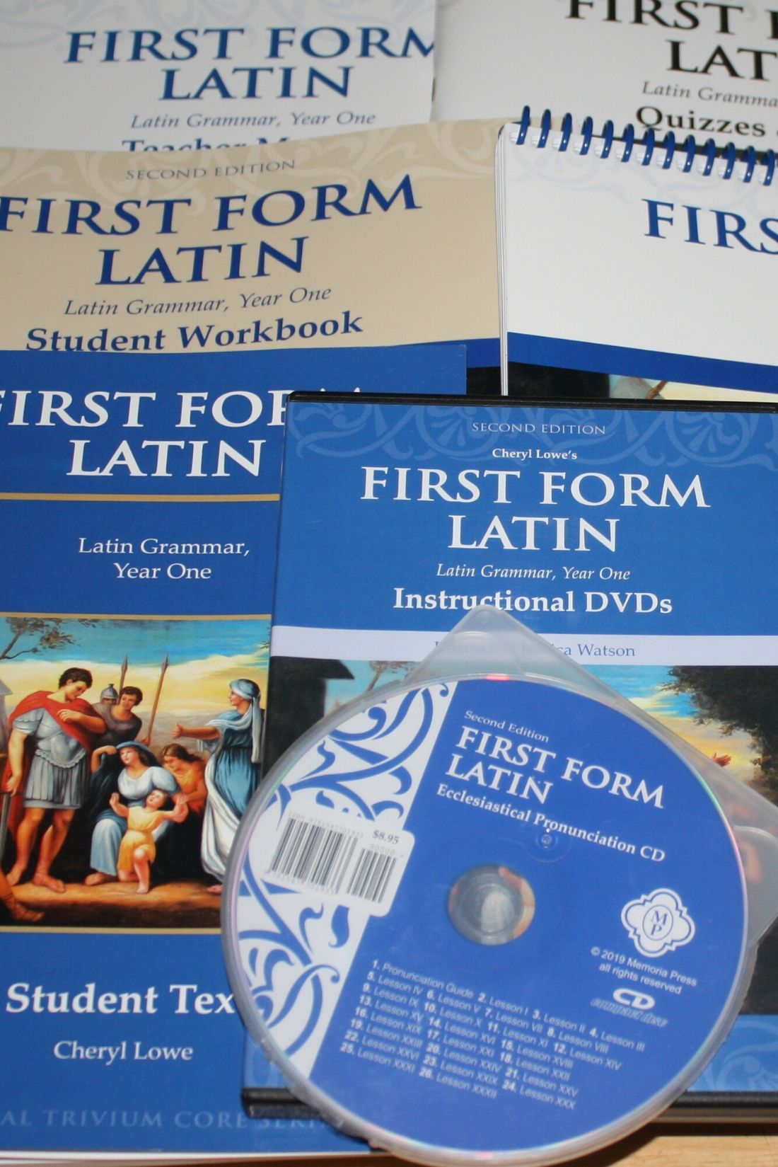 First Form Latin Complete Set From Memoria Press Helps