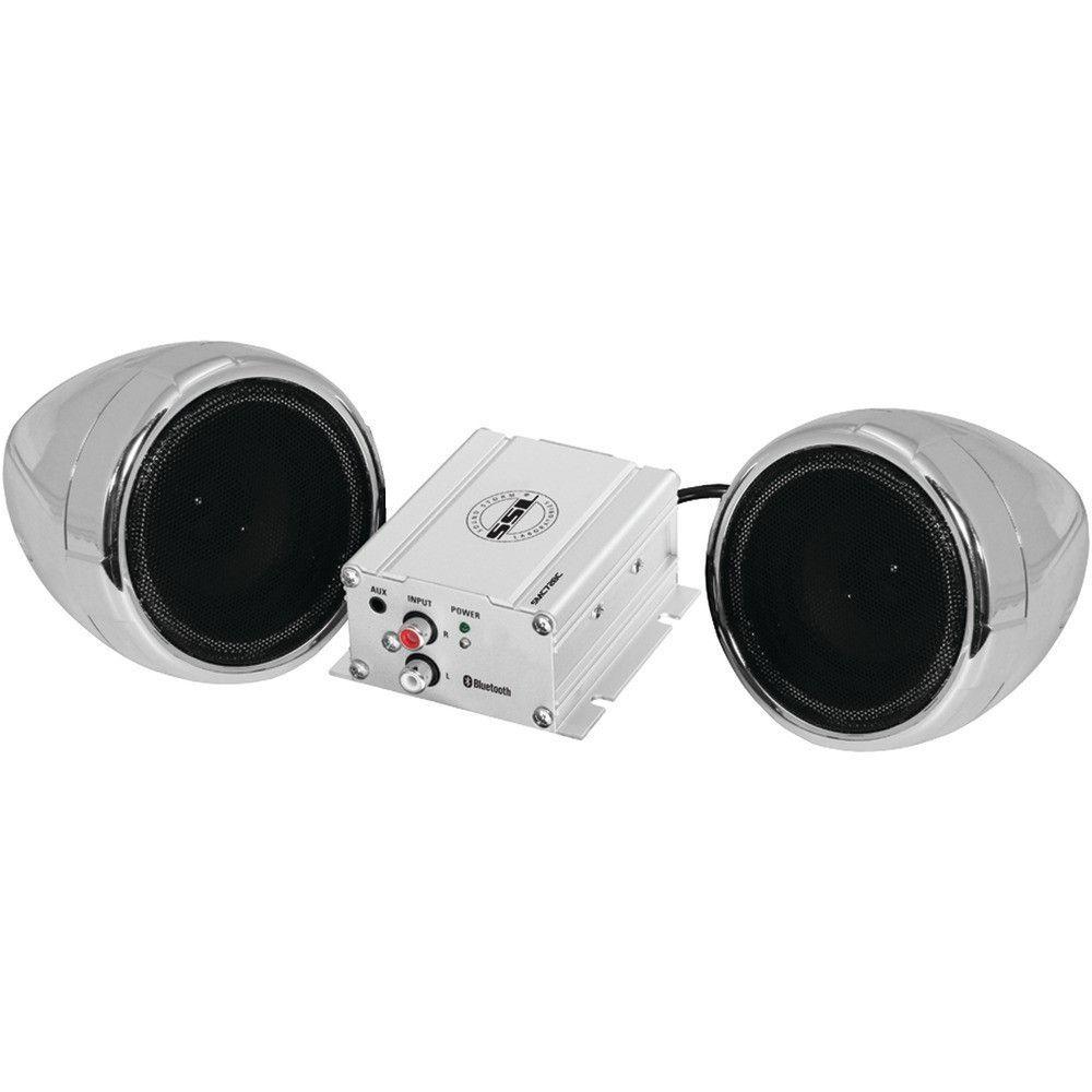SOUNDSTORM SMC72BC Motorcycle 600Watt Amplified Sound