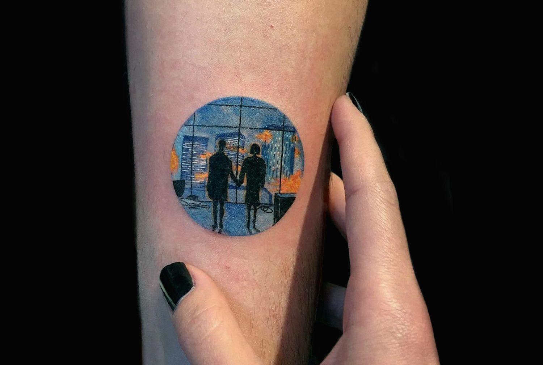 Miniature tattoo scenes by eva krbdk tattoo pinterest