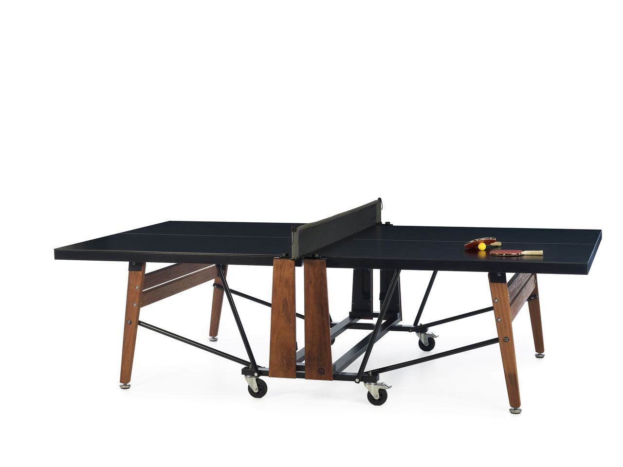Rs Barcelona Folding Ping Pong Table Mesa Plegable Mesa De Ping Pong Grandes Disenos