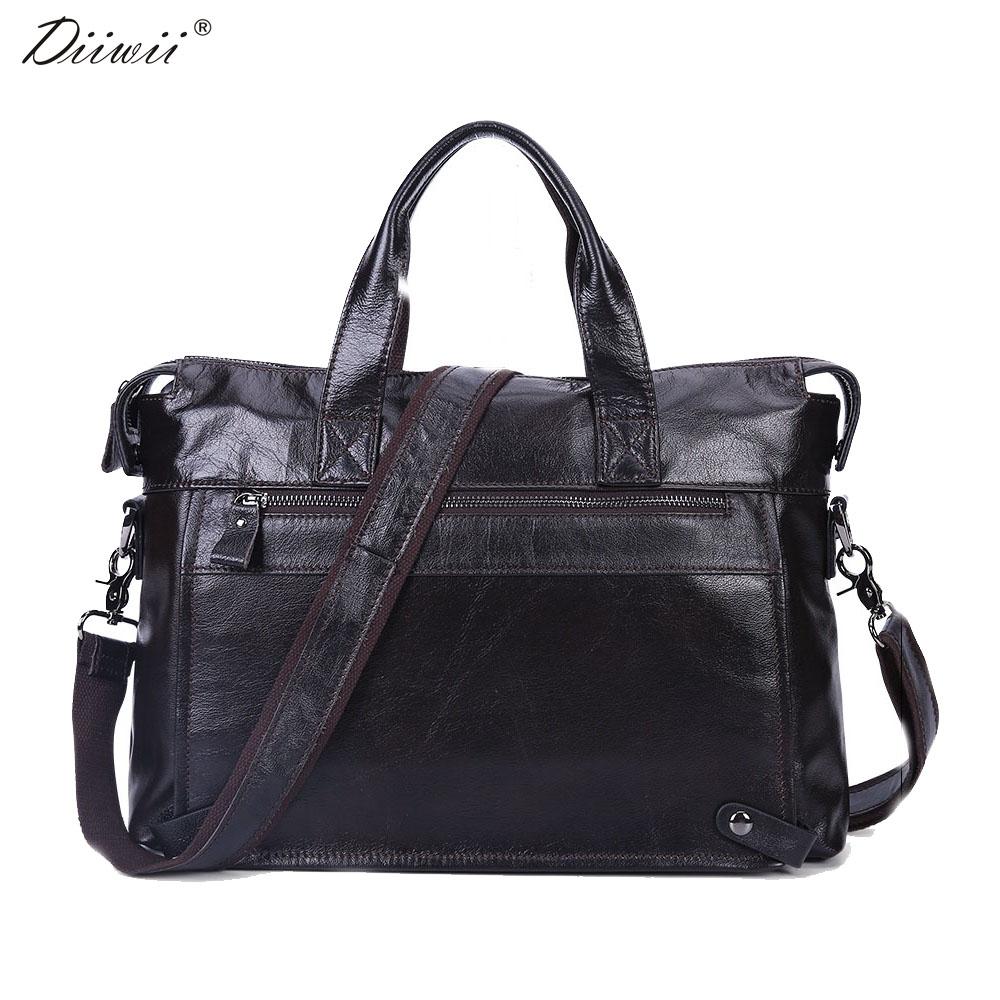102.52$  Know more  - Diiwii New fashion Men Business Genuine Leather Briefcase Fashion Messenger Crossbody Bag Laptop Handbags Shoulder Bag Tote Bag