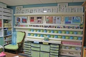 AWESOME craft/scrapbook room ideas!!! dawnsparkles by cindy.robinson.9862