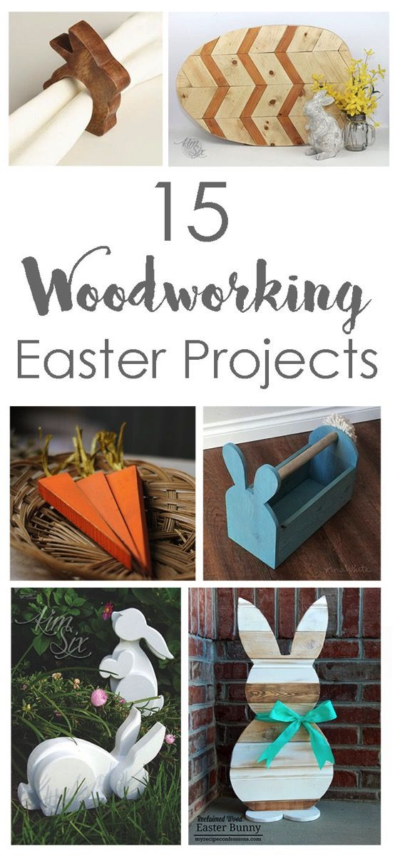 15 woodworking easter projects diy woodworking wood projects and 15 easy diy woodworking projects perfect for easter get out those power tools and whip up one of these wood projects just in time for the easter bunny solutioingenieria Choice Image