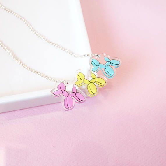 Fantastic Balloon Dog Necklace | dog necklace, dog jewelry, pet necklace  HI31