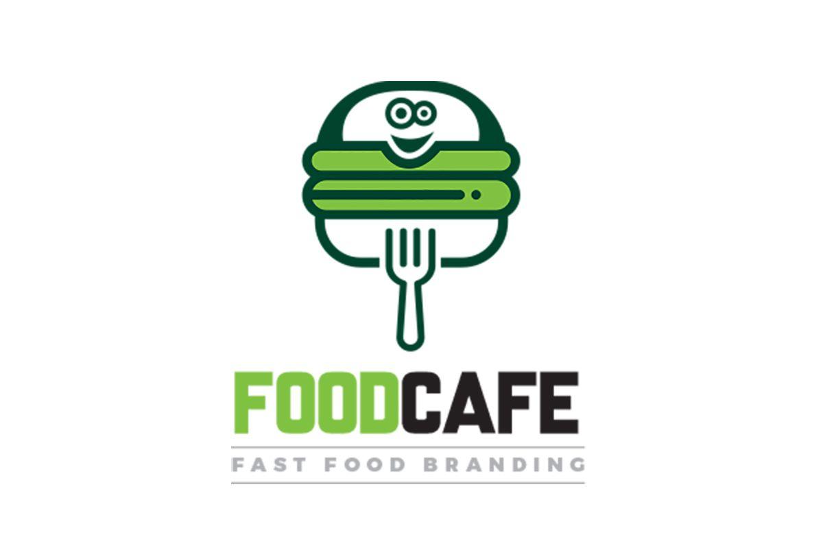 Fast food restaurant logo template logo food fast