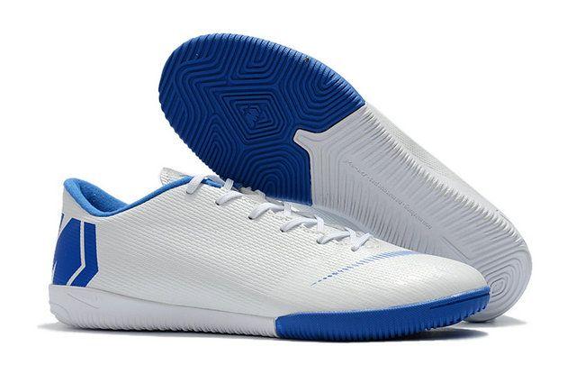 b1e3bf50cd8d Nike Mercurial Superfly Vi White Blue Shoe