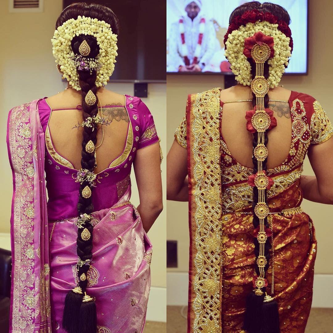 Pin By Munny On Poolajada Indian Wedding Hairstyles Bridal Make Up Indian Bride