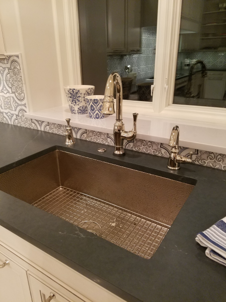 Native Trails Cocina sink - Brushed Nickel kitchen sink in ...