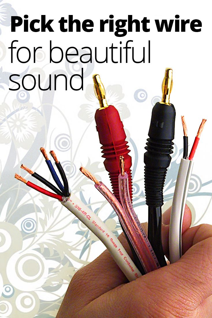 speaker wire how to choose the right gauge and type diy speaker home speaker wiring ohms diagram home speaker wiring [ 735 x 1102 Pixel ]