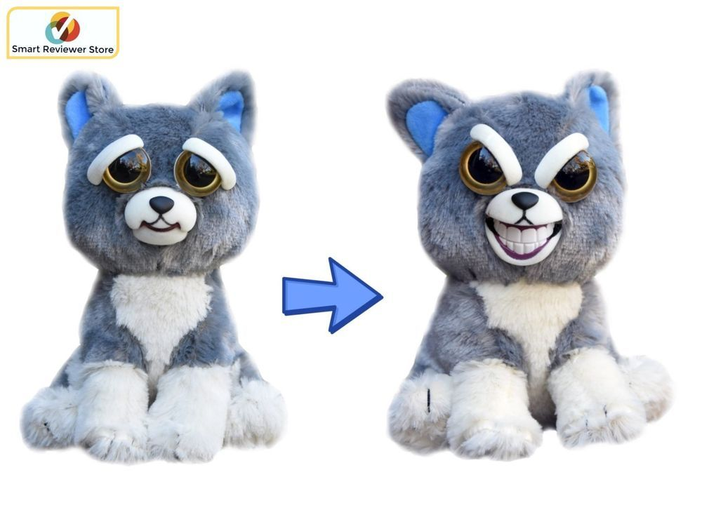 Feisty Pets Cute To Scary Stuffed Animal Plush Squeeze Toy Prank Suckerpunch Dog Feistypets Animal Plush Toys Teddy Bear Stuffed Animal Pets