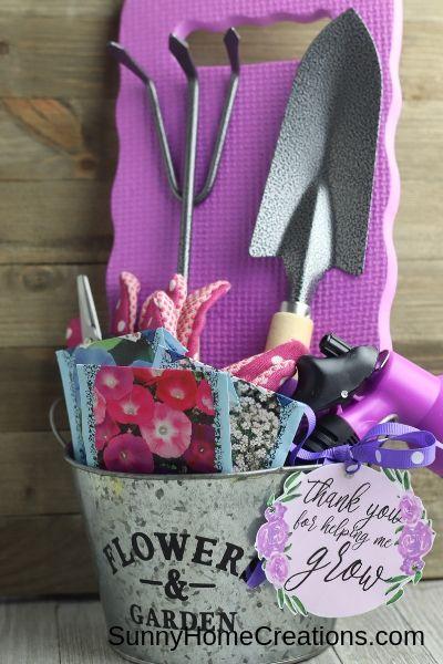 Gardening Gift Basket #boyfriendgiftbasket