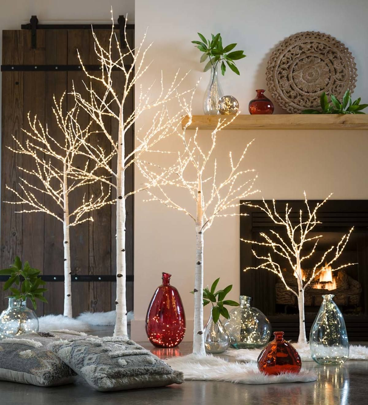 BIRCH LED LIGHT TREES VivaTerra (With images) Elegant