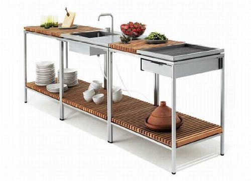 Outdoor Küchen Ideen : Simple outdoor kitchen interieur