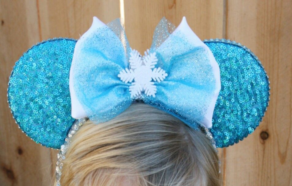 Frozen - Inspired Minnie Mouse Disney Ears