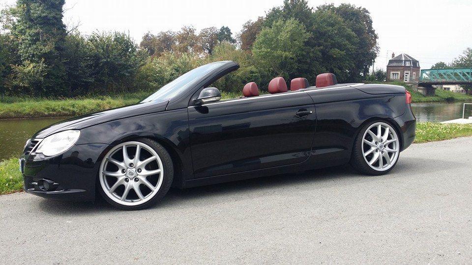 Noir Avec Les Jantes Porsche Cayenne En 19 Vw Eos Volkswagen Sports Car