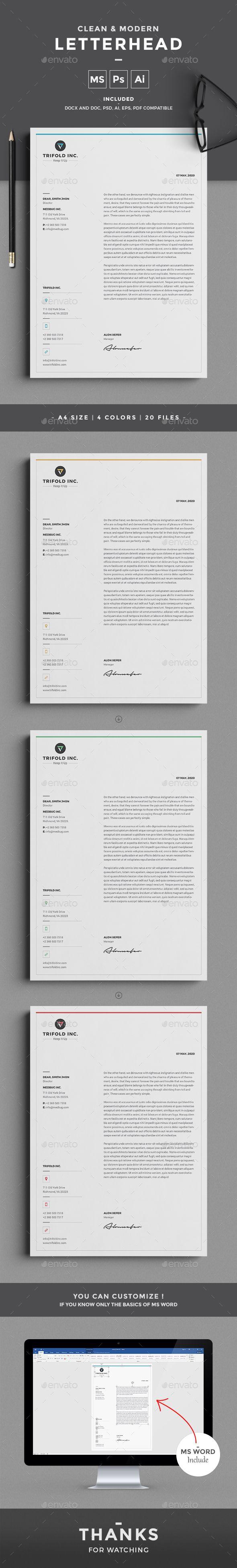 letterhead stationery templates