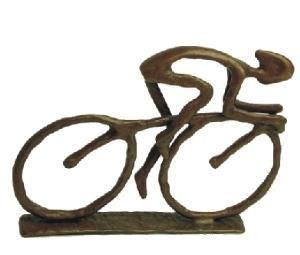 Contemporary Racing Cyclist Sculpture