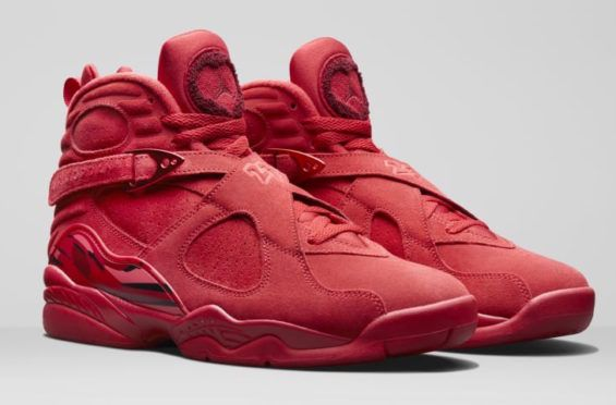 Air Jordan 8 WMNS Valentine's Day Release Date: February 2018 Price: $190  Where To Buy Online? KicksOnfire App: Available Now! Valentine's Day is o…