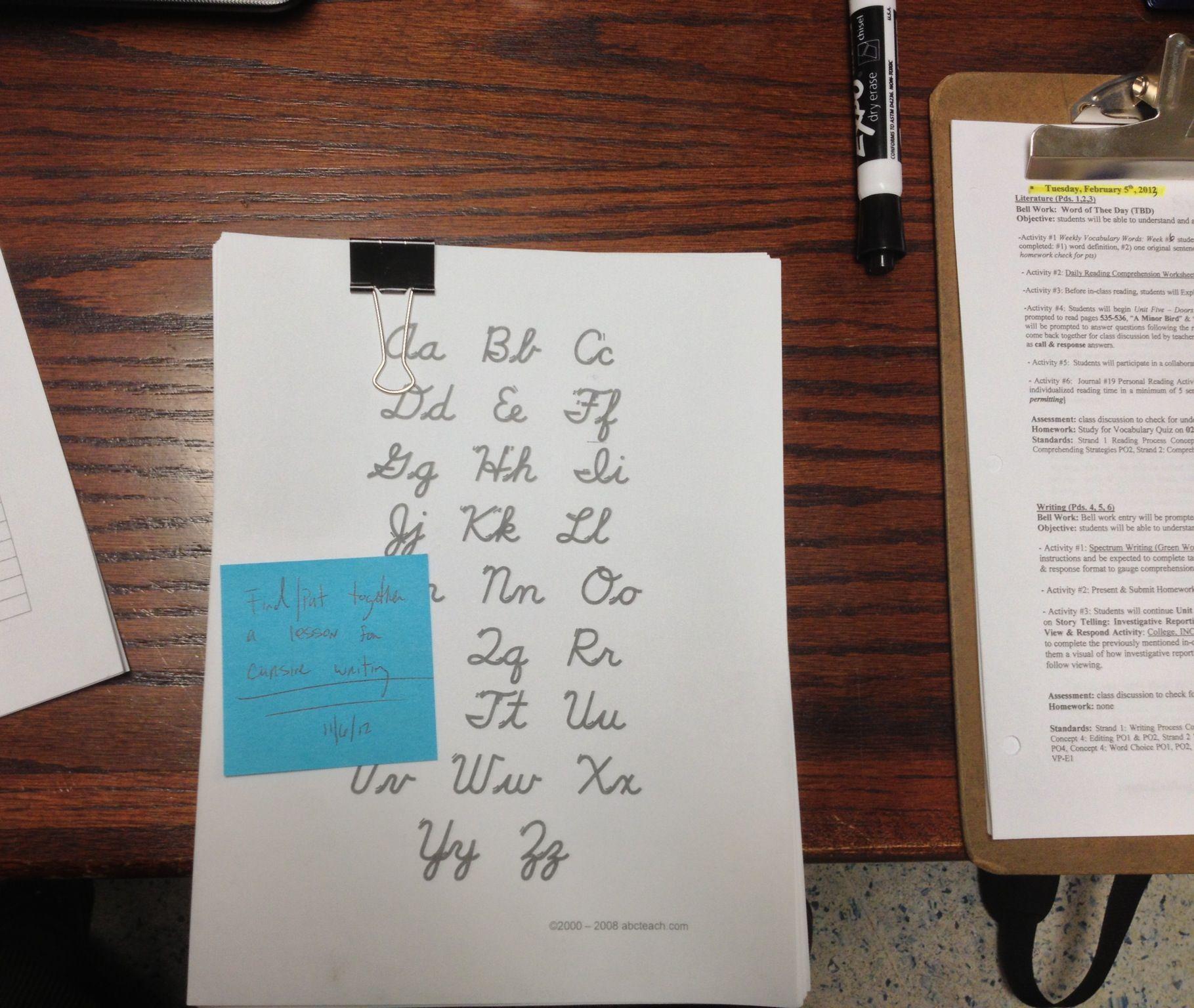 Quick Lesson On Signatures Cursive Writing Teaching Cursive Cursive Writing Writing Assignments [ 1536 x 1819 Pixel ]