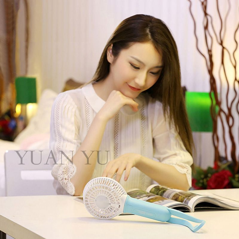 Portable Rechargeable Handheld Mini USB Fan Pocket Conditioner Air